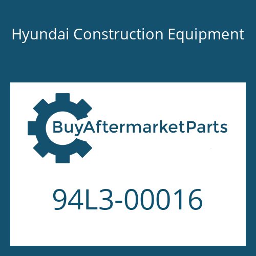 Hyundai Construction Equipment 94L3-00016 - DECAL KIT-A