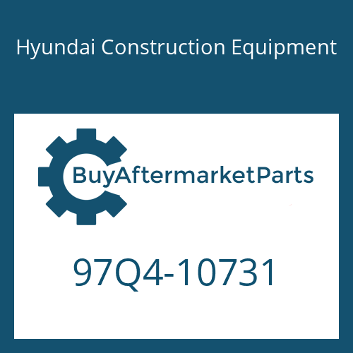 Hyundai Construction Equipment 97Q4-10731 - DECAL-SERVICE INSTRUCTION