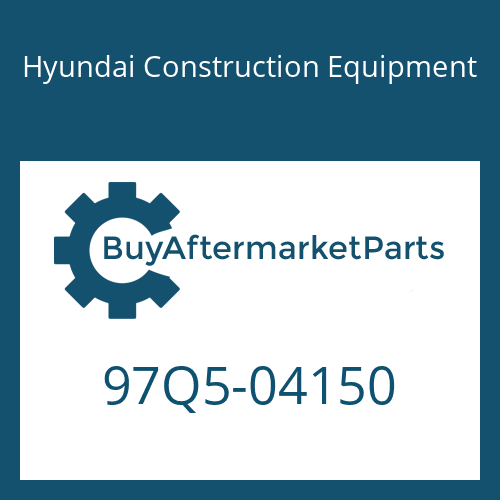 Hyundai Construction Equipment 97Q5-04150 - DECAL-LIFT CHART