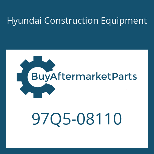 Hyundai Construction Equipment 97Q5-08110 - DECAL-LIFT CHART