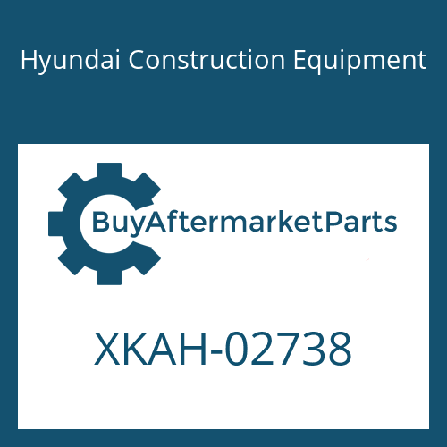 Hyundai Construction Equipment XKAH-02738 - RING-BACKUP