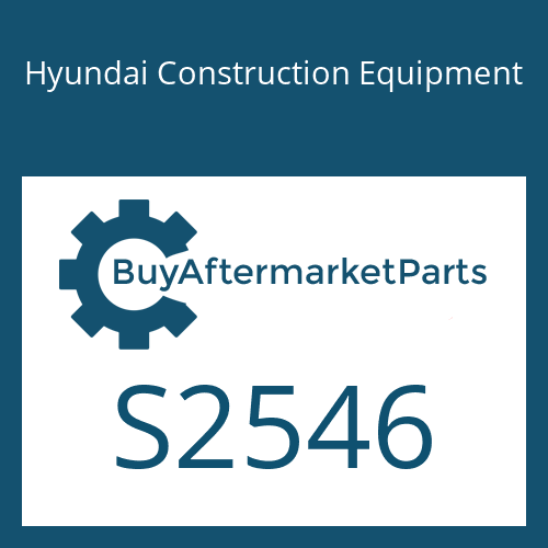 Hyundai Construction Equipment S2546 - BUMPER