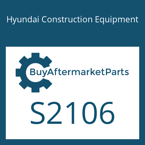 Hyundai Construction Equipment S2106 - O-RING
