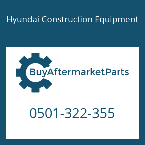 Hyundai Construction Equipment 0501-322-355 - DISC-FRICTION