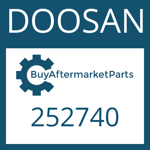 DOOSAN 252740 - AXIAL WASHER
