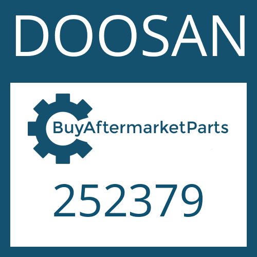 DOOSAN 252379 - THRUST WASHER