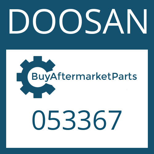 DOOSAN 053367 - WASHER