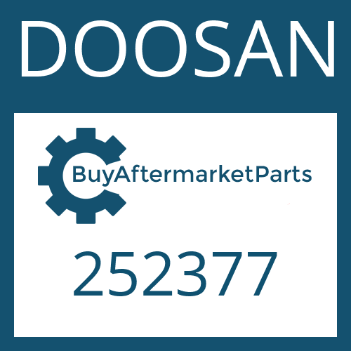 DOOSAN 252377 - PISTON