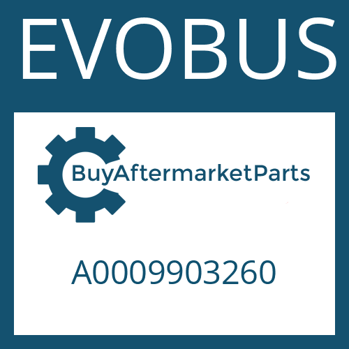 EVOBUS A0009903260 - SLOTTED NUT