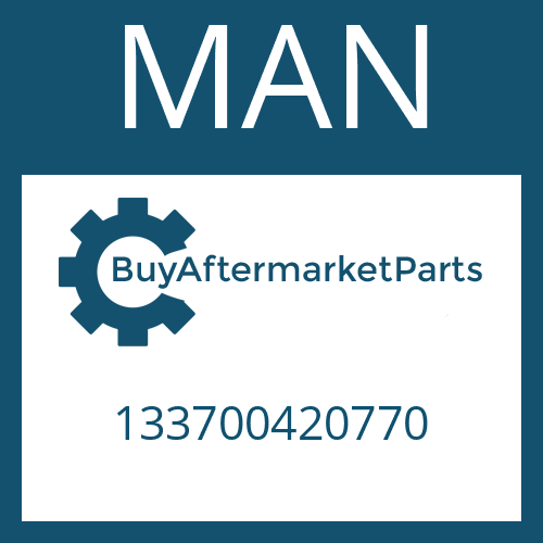 MAN 133700420770 - RETAINING RING