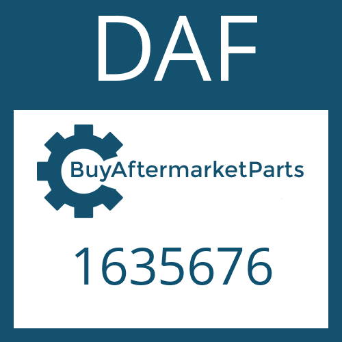 DAF 1635676 - CLUTCH DISC