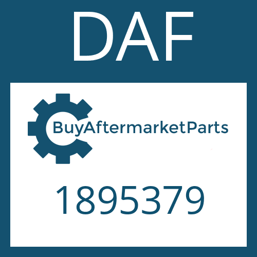 DAF 1895379 - HEAT EXCHANGER