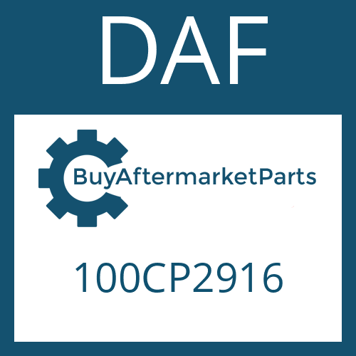 DAF 100CP2916 - HEXAGON NUT