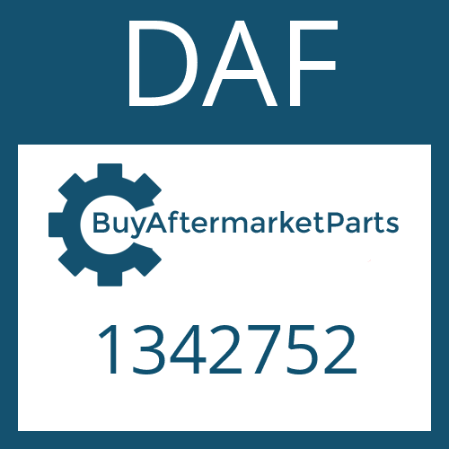 DAF 1342752 - FRICTION PLATE
