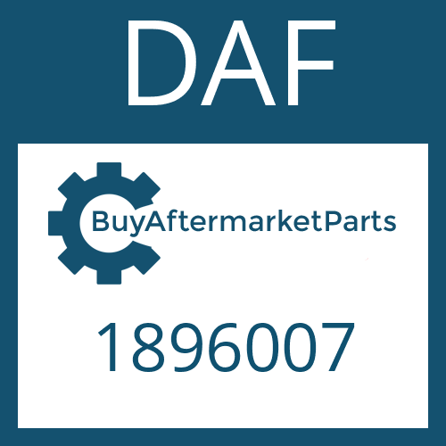 DAF 1896007 - SEAL KIT