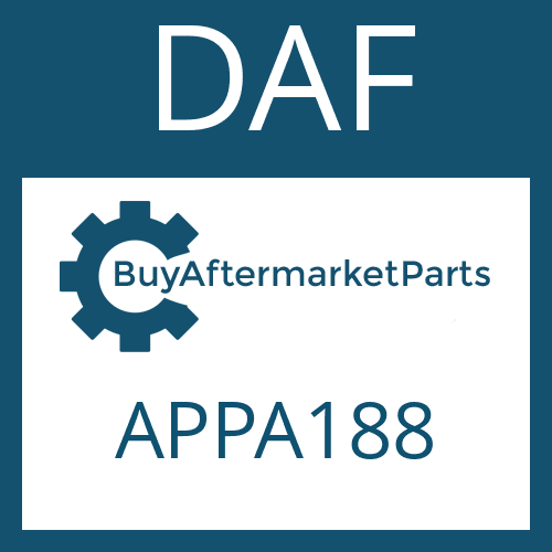 DAF APPA188 - FLANGE PACKING