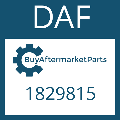 DAF 1829815 - SEAL KIT