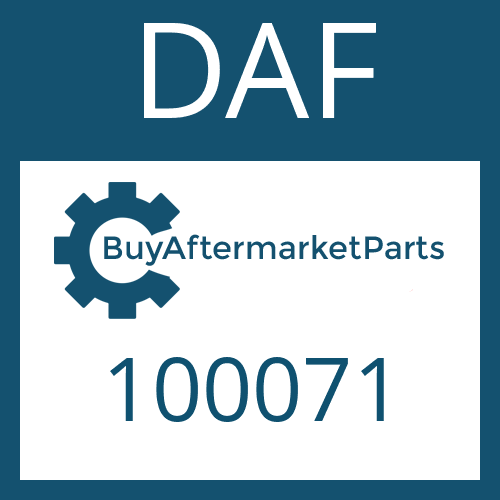 DAF 100071 - RETAINING RING