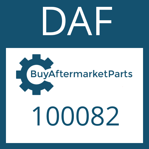 DAF 100082 - RETAINING RING