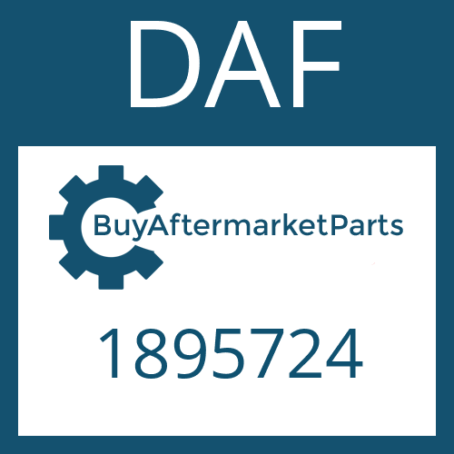 DAF 1895724 - SHIFT LEVER