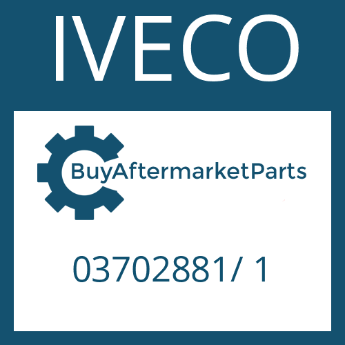 IVECO 03702881/ 1 - REDUCTION VALVE
