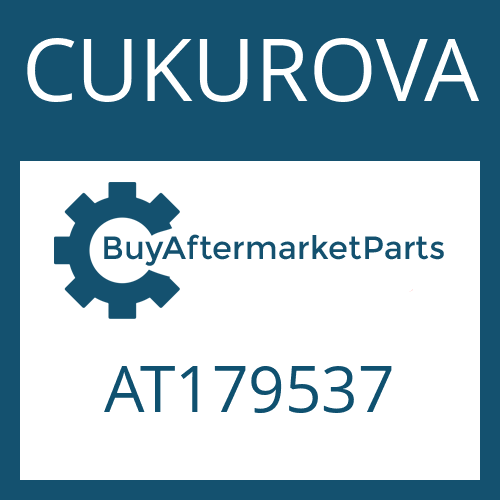 CUKUROVA AT179537 - SHAFT SEAL