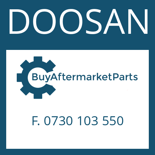 DOOSAN F. 0730 103 550 - THRUST WASHER