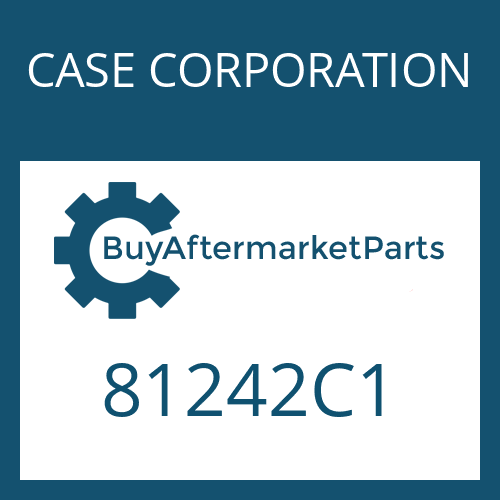 CASE CORPORATION 81242C1 - INNER CLUTCH DISC