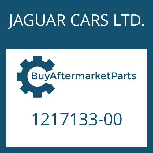 JAGUAR CARS LTD. 1217133-00 - RUNDDICHTRING