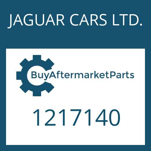 JAGUAR CARS LTD. 1217140 - RECTANGULAR RING