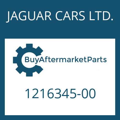JAGUAR CARS LTD. 1216345-00 - RECTANGULAR RING