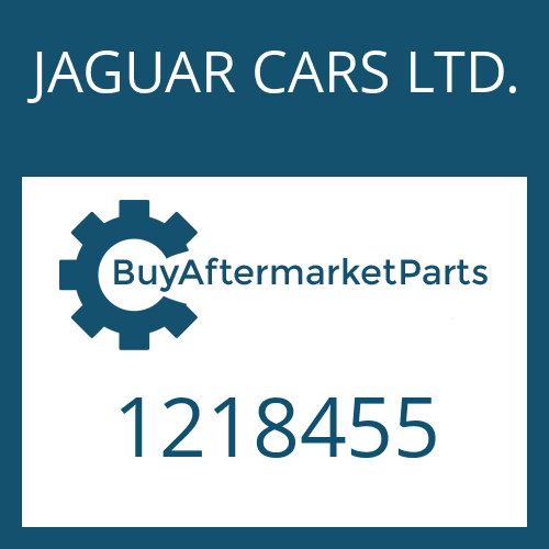 JAGUAR CARS LTD. 1218455 - LOCK WASHER