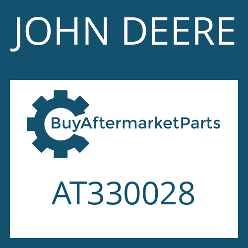 JOHN DEERE AT330028 - BRAKE TUBE