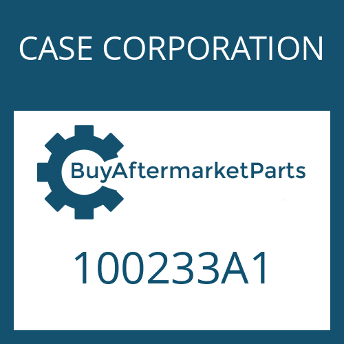 CASE CORPORATION 100233A1 - WASHER