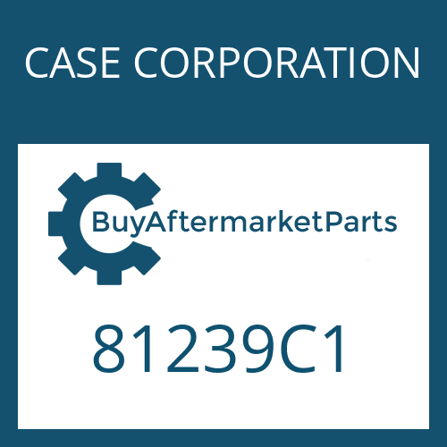 CASE CORPORATION 81239C1 - OUTER CLUTCH DISK