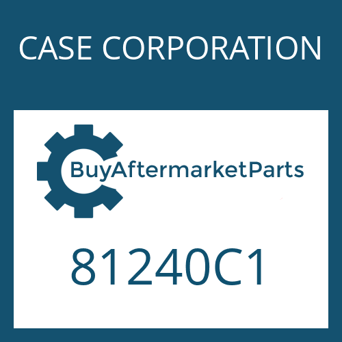 CASE CORPORATION 81240C1 - OUTER CLUTCH DISK