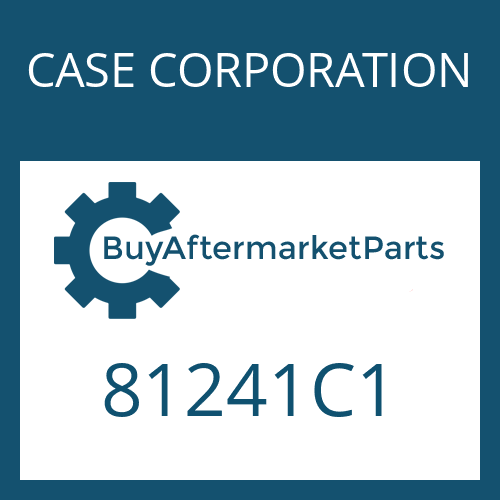 CASE CORPORATION 81241C1 - OUTER CLUTCH DISK