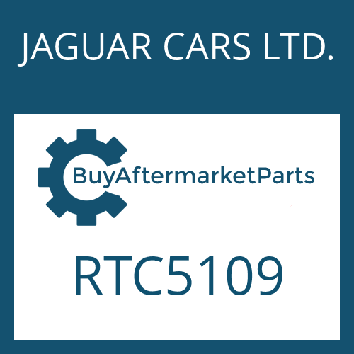 JAGUAR CARS LTD. RTC5109 - WASHER