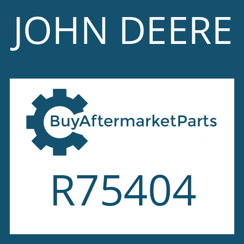 JOHN DEERE R75404 - WASHER