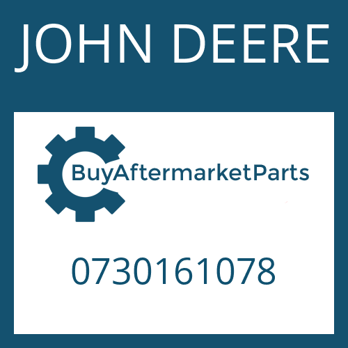 JOHN DEERE 0730161078 - STOP WASHER