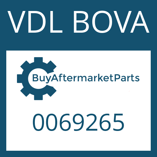 VDL BOVA 0069265 - THRUST WASHER