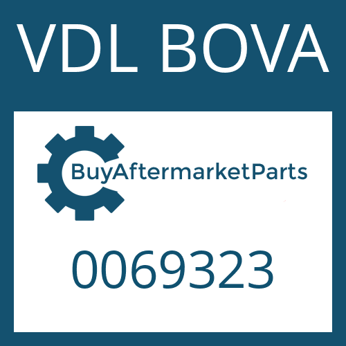 VDL BOVA 0069323 - FILLER TUBE