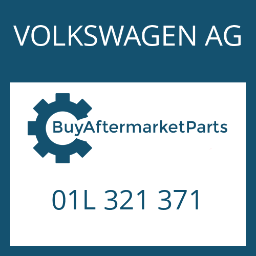 VOLKSWAGEN AG 01L 321 371 - DICHTUNG