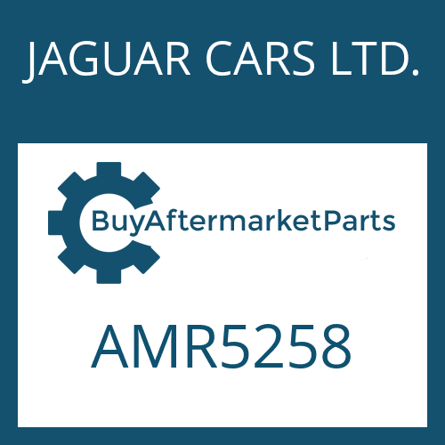 JAGUAR CARS LTD. AMR5258 - CONTROL UNIT