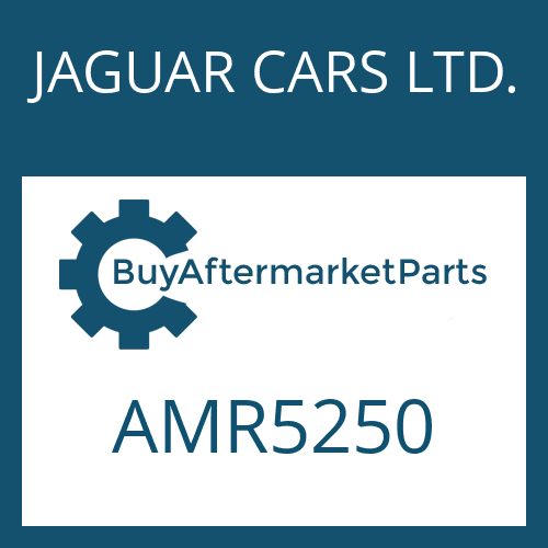 JAGUAR CARS LTD. AMR5250 - CONTROL UNIT
