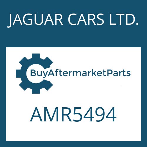 JAGUAR CARS LTD. AMR5494 - STEUERUNG
