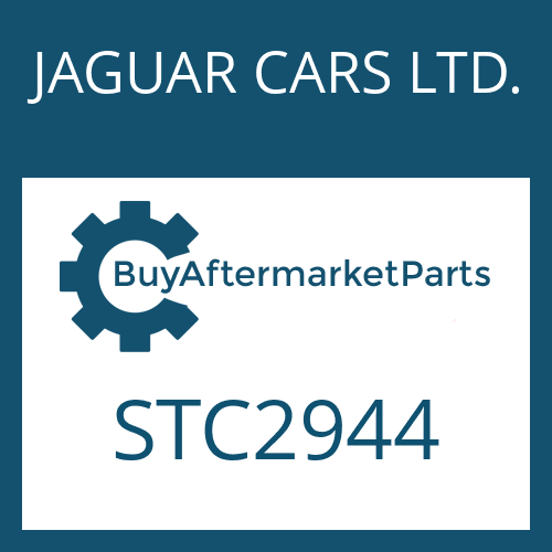 JAGUAR CARS LTD. STC2944 - SWITCH