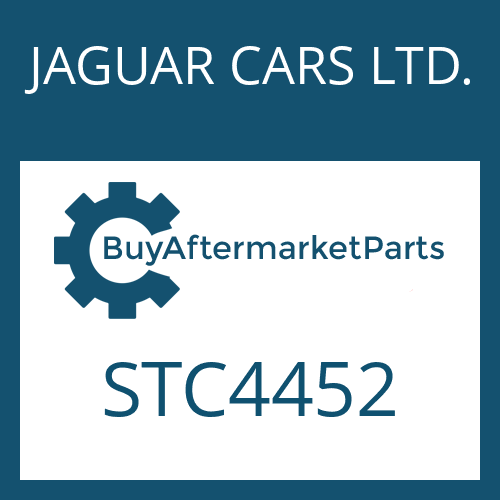JAGUAR CARS LTD. STC4452 - SWITCH