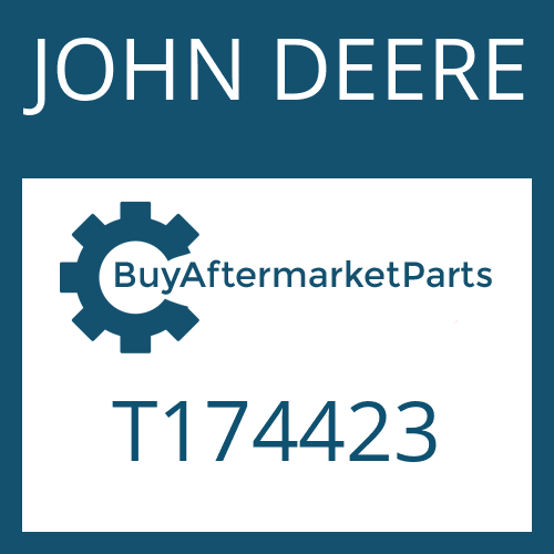 JOHN DEERE T174423 - OIL TUBE