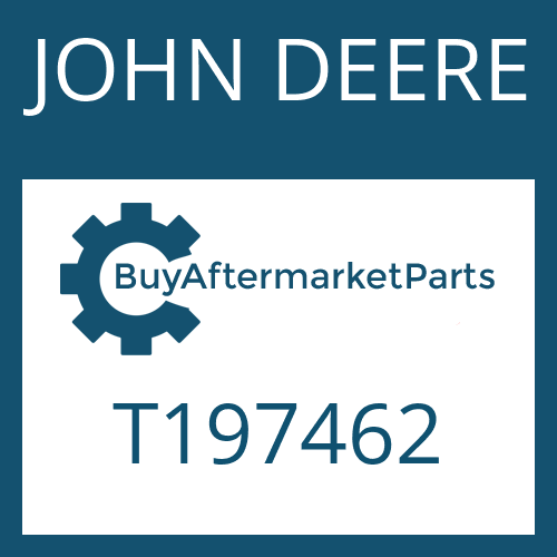JOHN DEERE T197462 - OIL TUBE